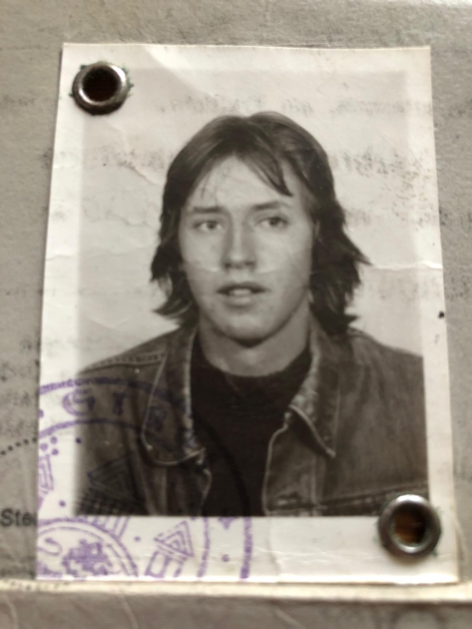 Lou Richter Personalausweis