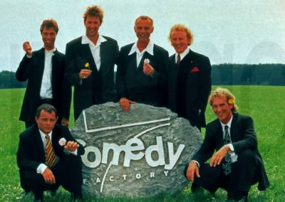 Comedy Factory auf ProSieben: wir waren nicht jung und brauchten kein Geld.